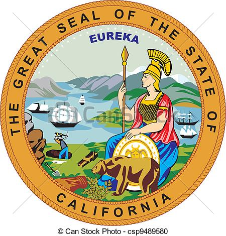 California State Seal Clipart.