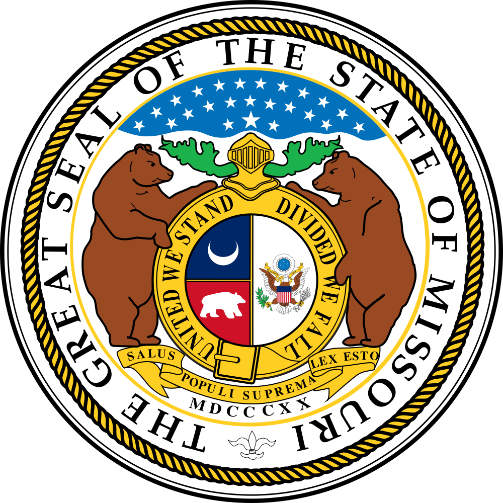 Missouri Flag Clipart.