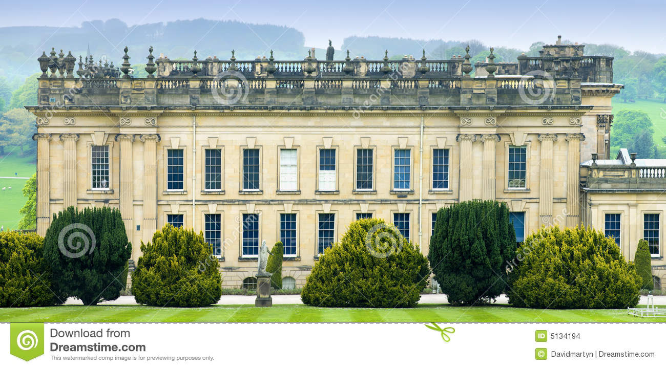 Stately home clipart #13