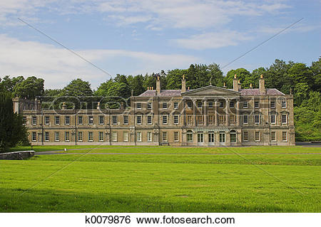 Stock Images of Stately home k0079876.