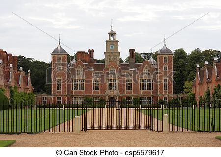 Picture of Stately home.