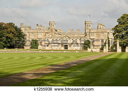 Pictures of English stately home k1255938.