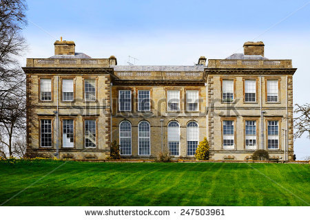 Stately Home Stock Photos, Royalty.