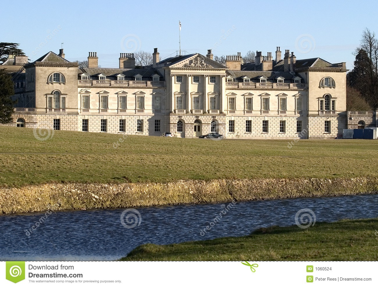 Stately Home Stock Images.