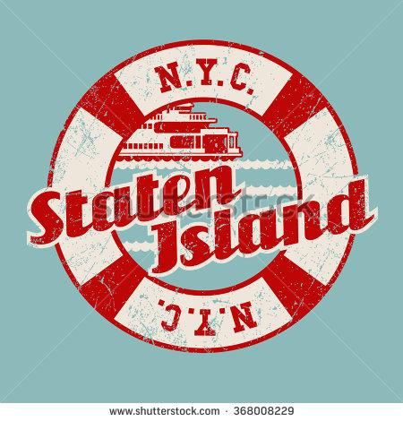 Staten Island Ferry Clipart.