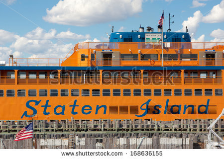 Staten Island Ferry Stock Images, Royalty.