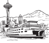 Ferry graphics free vector Ferry.