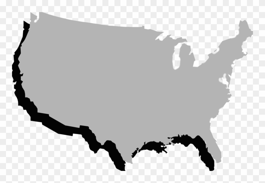 United States Clipart Border State.