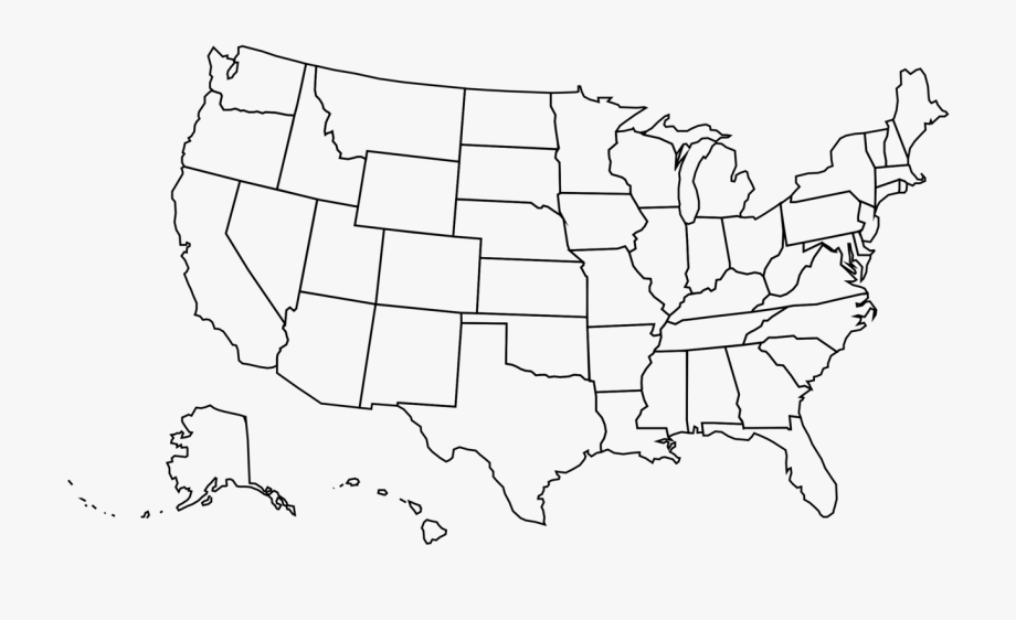 Great United States Clipart Map 4 » Clipart Portal.