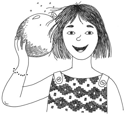Static electricity clipart #2