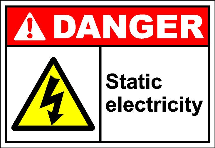 Static electricity clipart #16