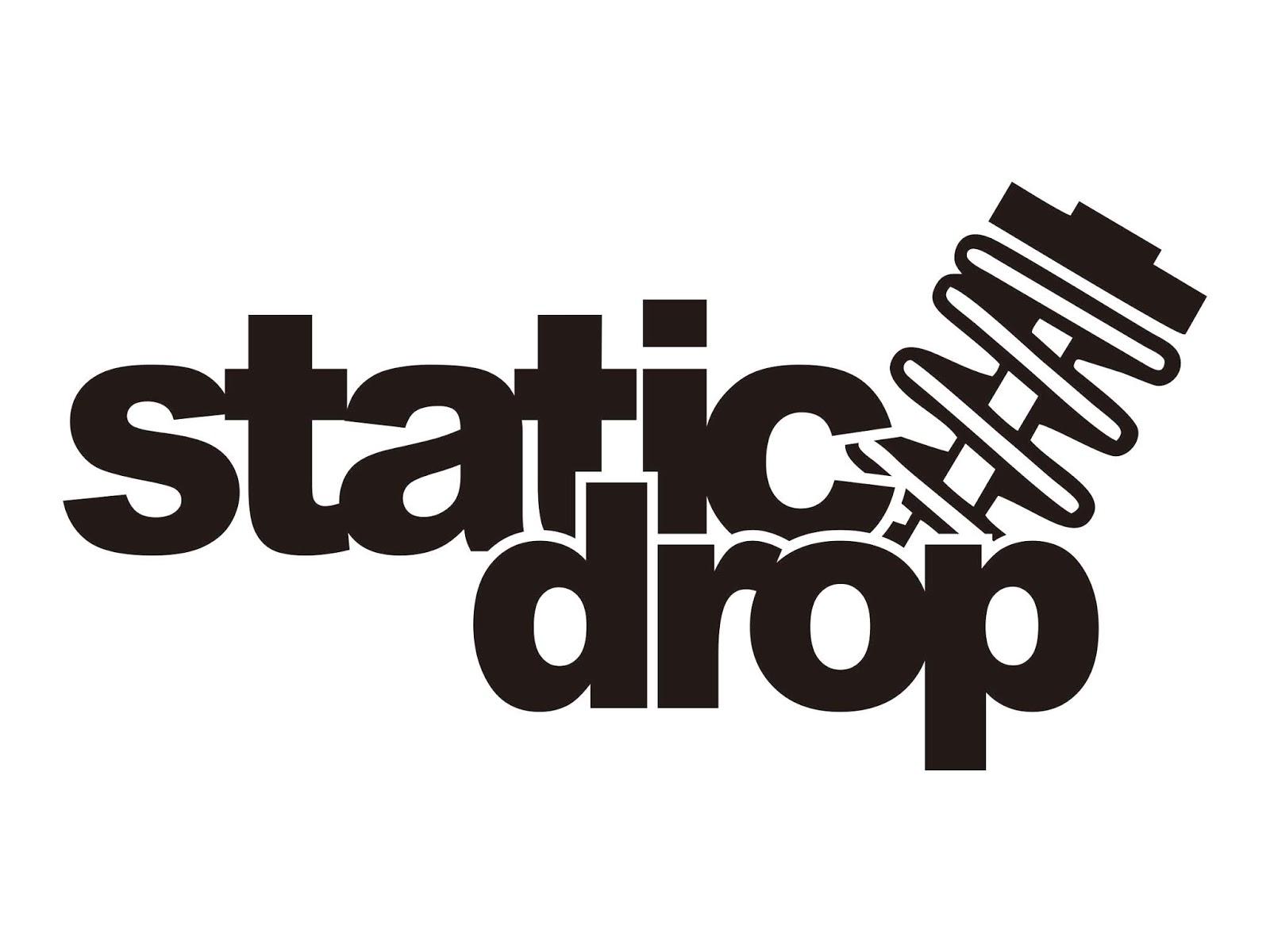 Logo Static Drop Vector Cdr & Png HD.