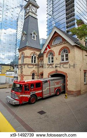 Stock Photograph of toronto fire department station 312 TFD 10.