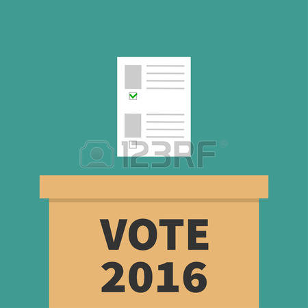 312 Voting Bulletin Stock Vector Illustration And Royalty Free.