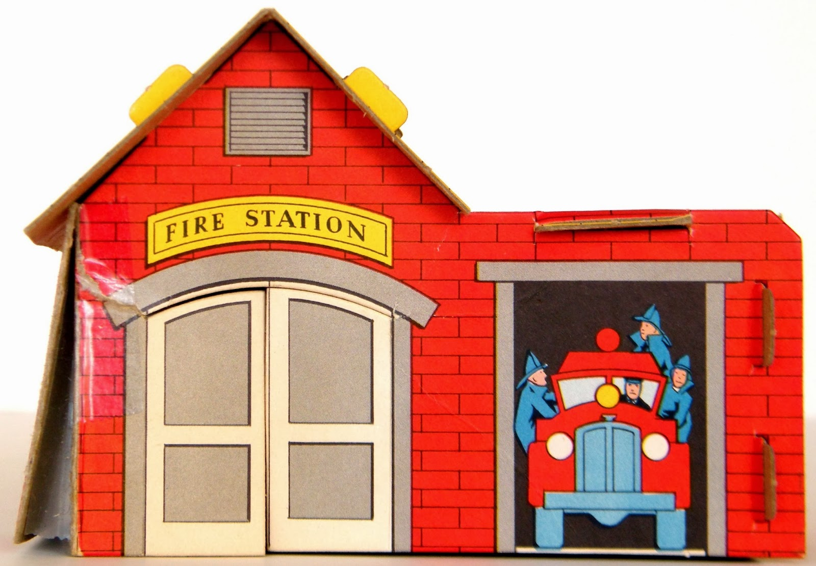 Fire Station Building Clipart.