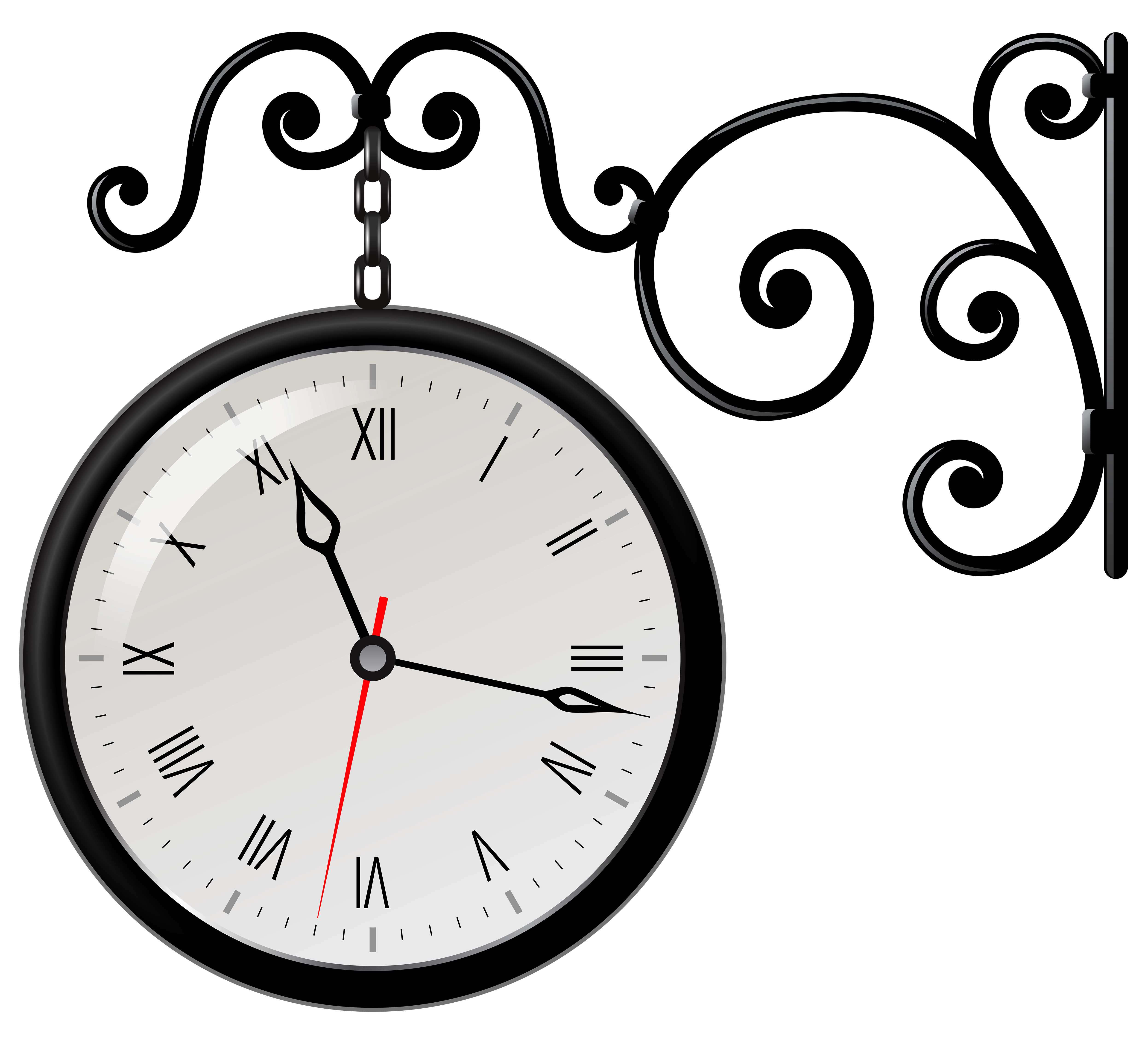 Station Clock Clipart Clipground