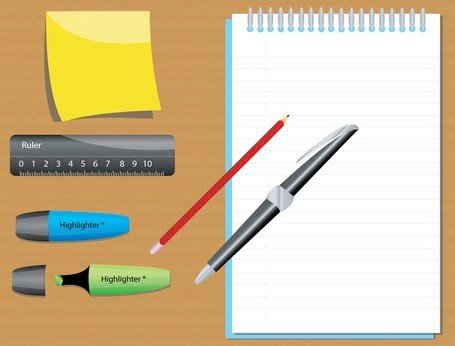 Stationary clipart 6 » Clipart Station.