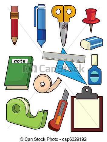 Stationery Vector Clipart Royalty Free. 40,052 Stationery clip art.