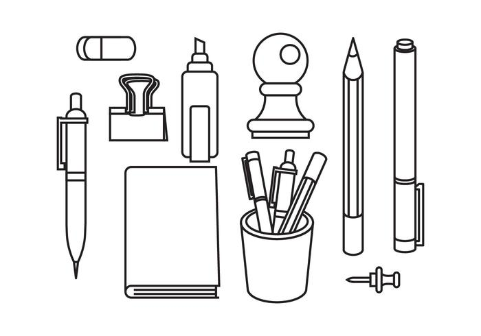 Stationary and Pen Vectors.