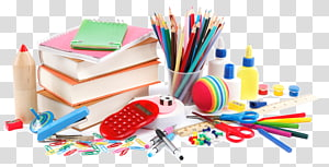 Office Supplies transparent background PNG cliparts free.