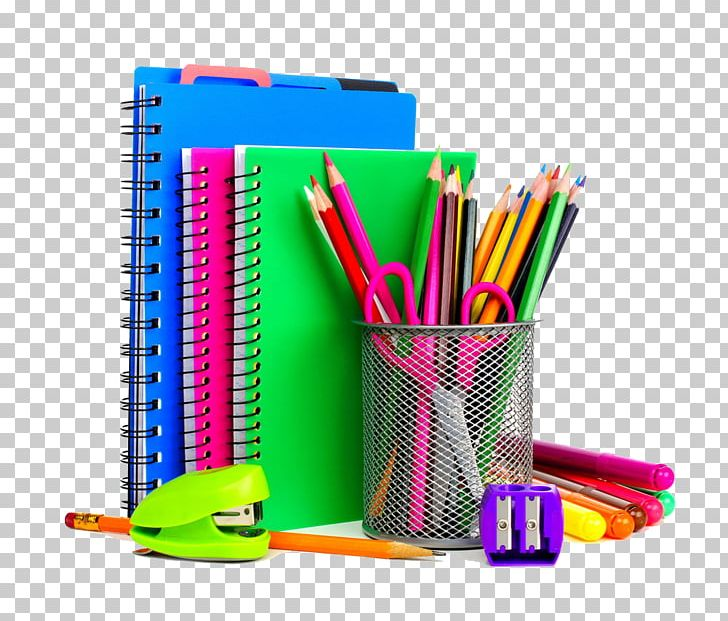 School Supplies Stationery Notebook Resource Room PNG.