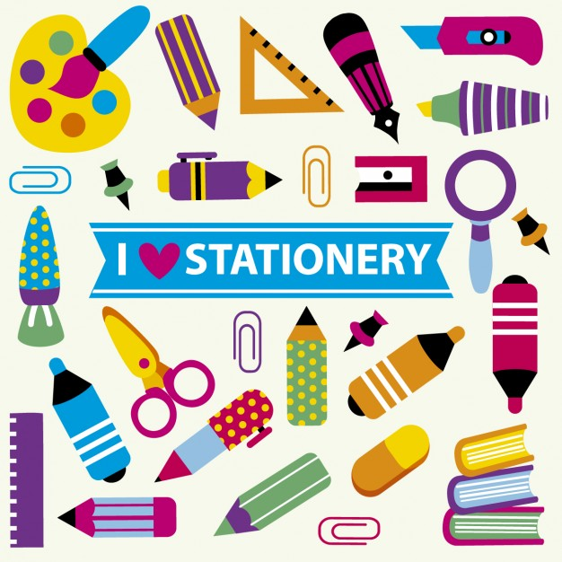Stationery Store Clipart.