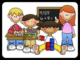 Math Stations Clipart.