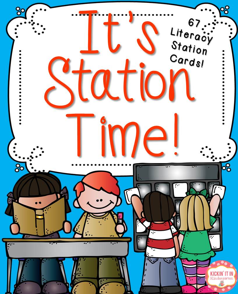 Literacy Station Clipart.