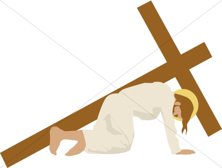 Stations of the cross clipart #10