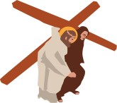 Stations of the cross clipart #4