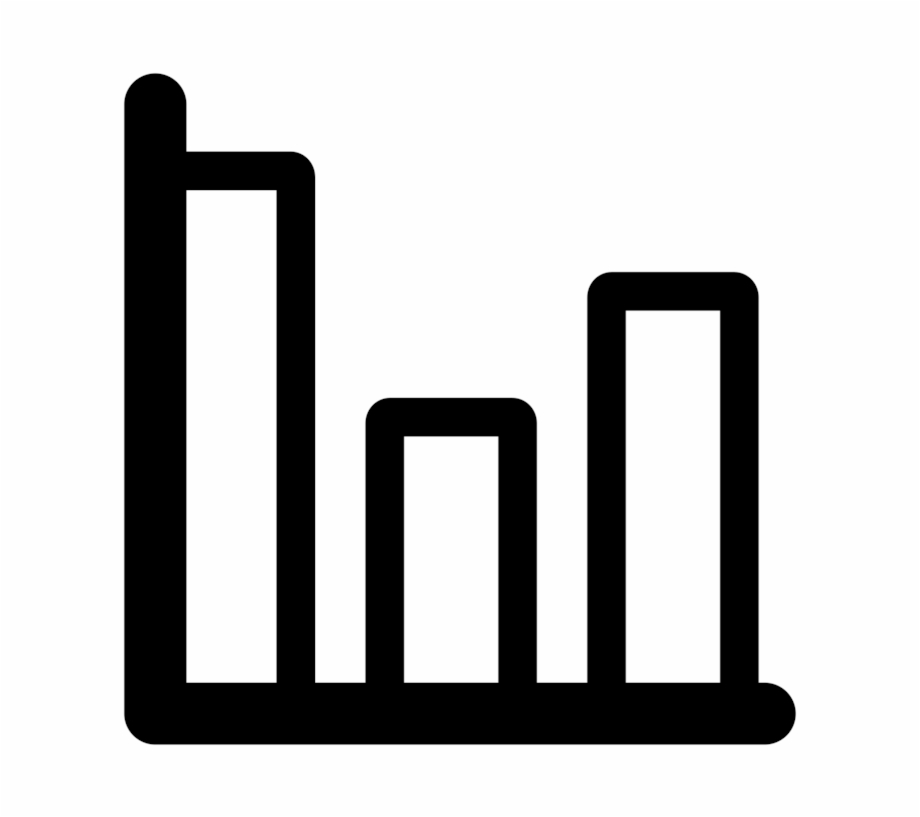 Computer Icons Statistics Bar Chart Black And White.