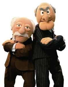 Statler And Waldorf Muppets Cartoon Disney Clipart.