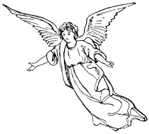 Statue Angel Clipart