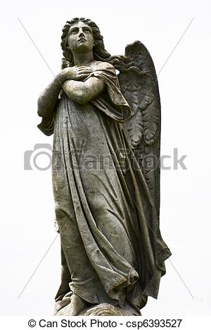 Picture of Angel statue.