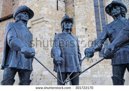 Musketeer Stock Images, Royalty.