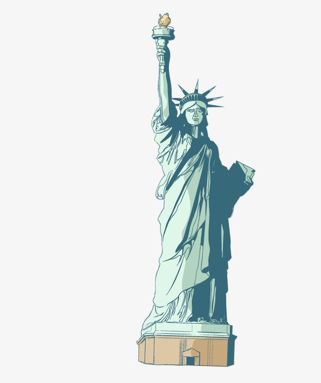 Liberty statue clipart 5 » Clipart Station.