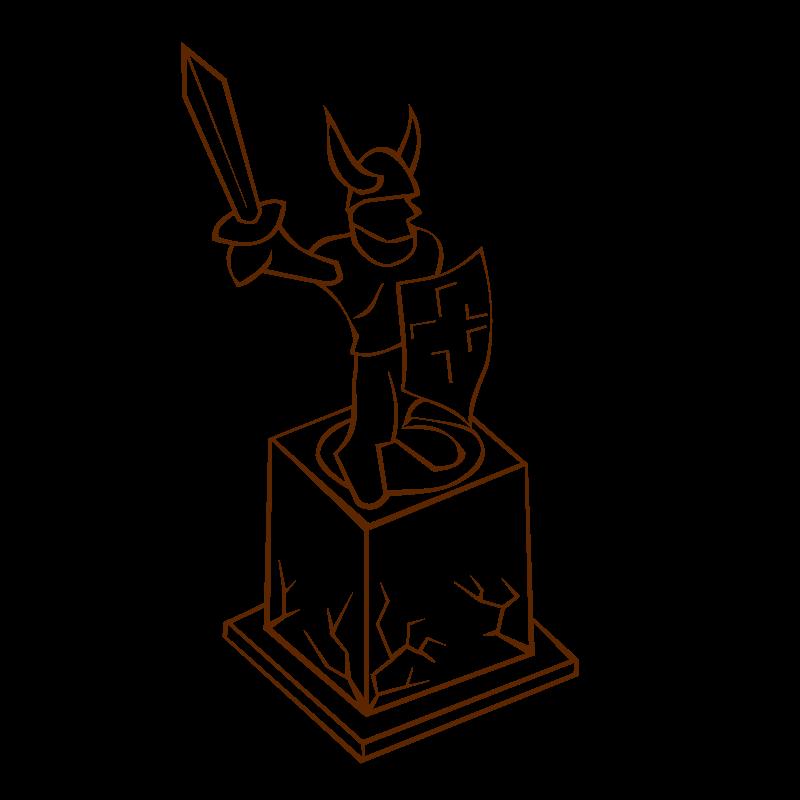 Statue Clipart.