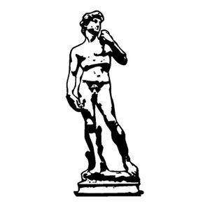 MICHELANGELO STATUE OF DAVID WALL DECOR DECAL.
