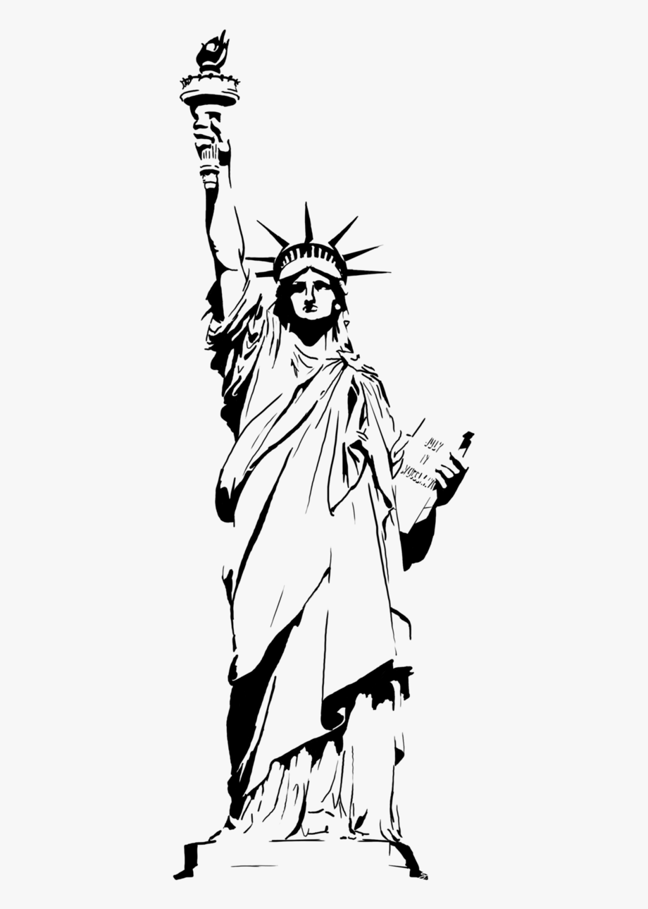 Statue Of Liberty Vector Png.