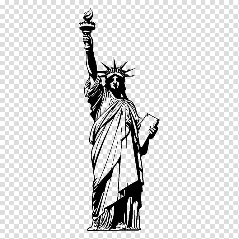 Statue of Liberty , statue of liberty transparent background.