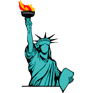 Statue of liberty clipart 4 » Clipart Station.