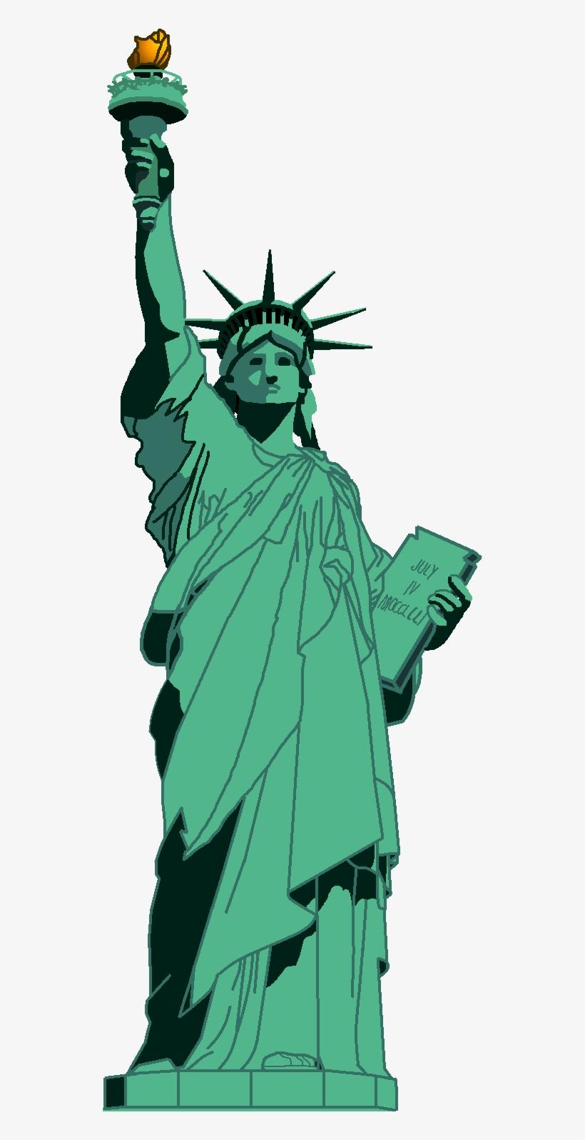 Statue Of Liberty Clipart Transparent.