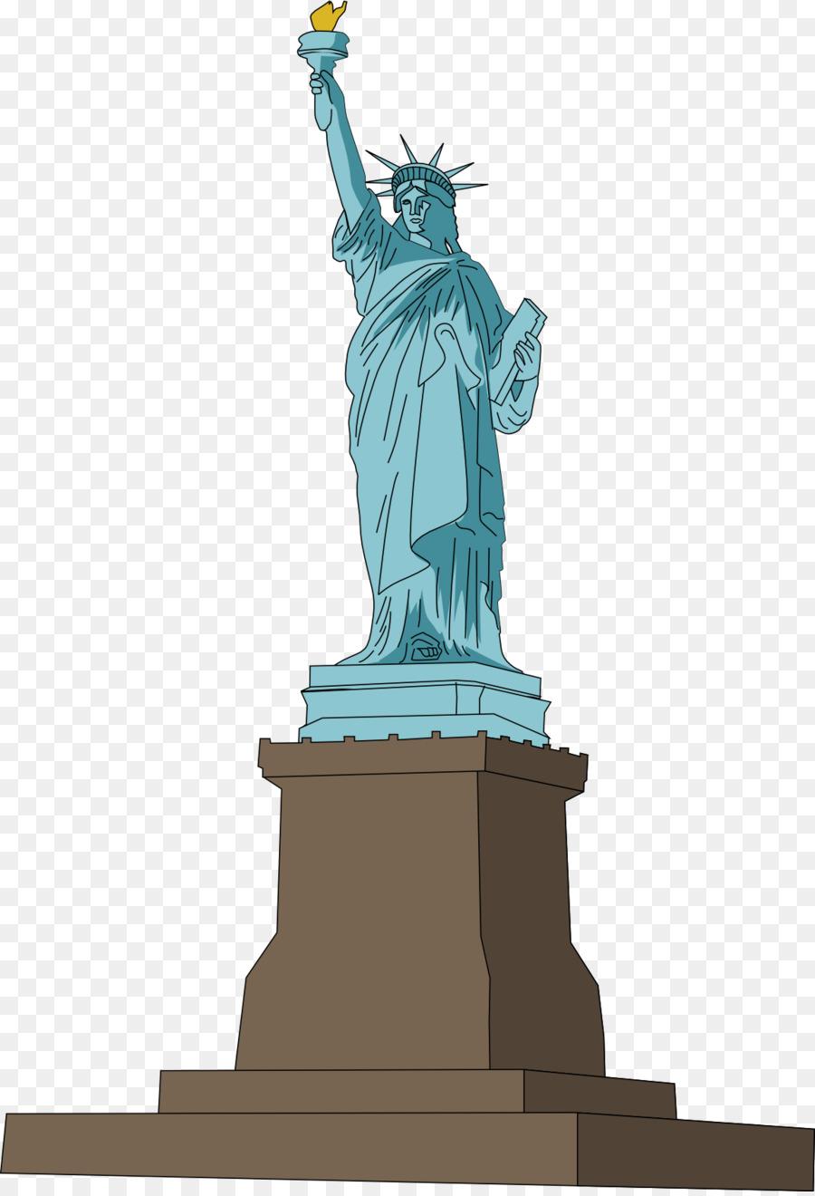 Statue Of Liberty Cartoon.