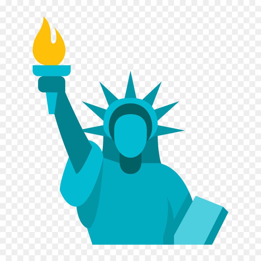 Statue Of Liberty Cartoon clipart.