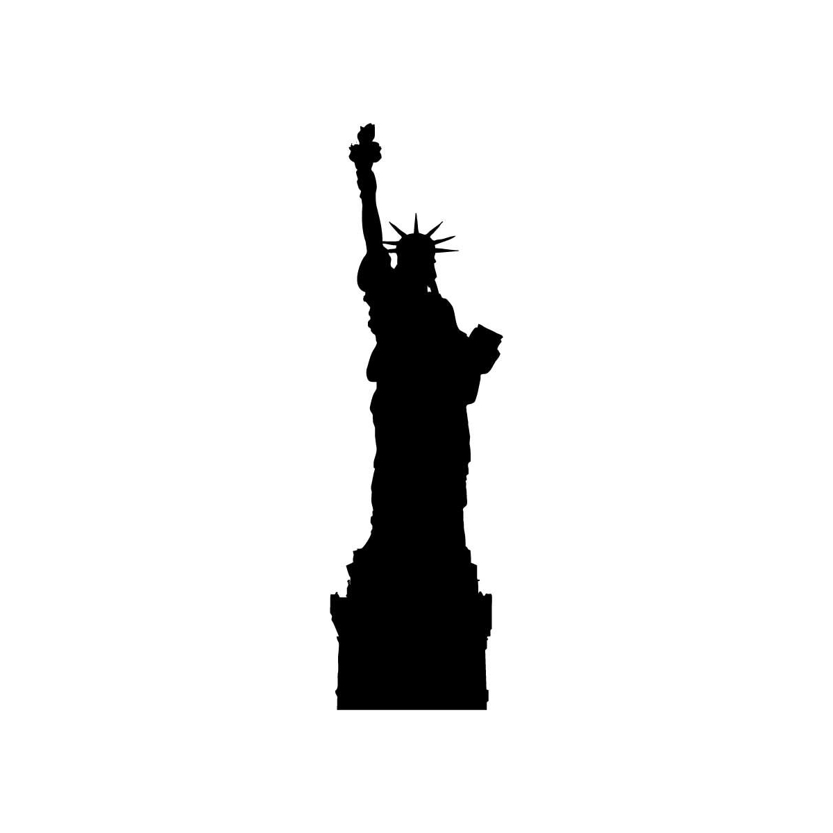Free Statue Of Liberty Silhouette Clipart, Download Free.