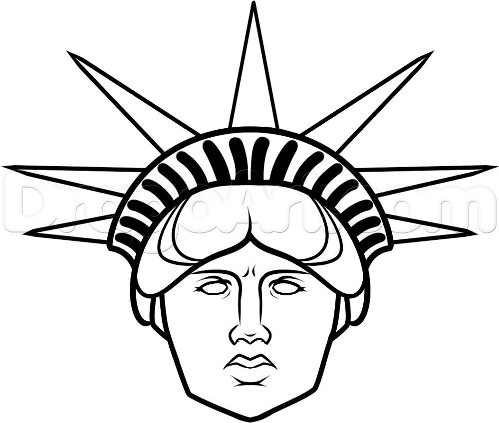Statue of liberty head clipart » Clipart Portal.