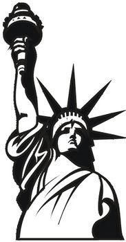 Statue of Liberty Head.