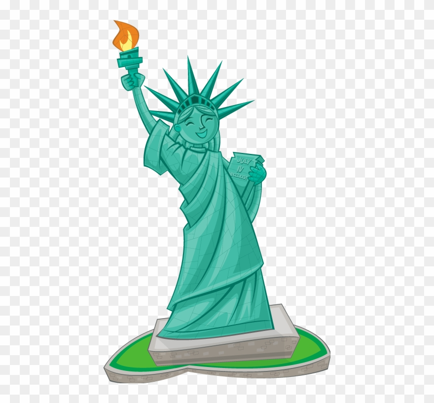 Lady Liberty Clip Art.