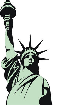 Statue Of Liberty Clipart.