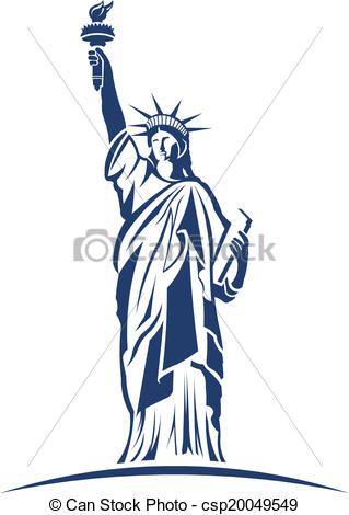 Statue of Liberty image logo.